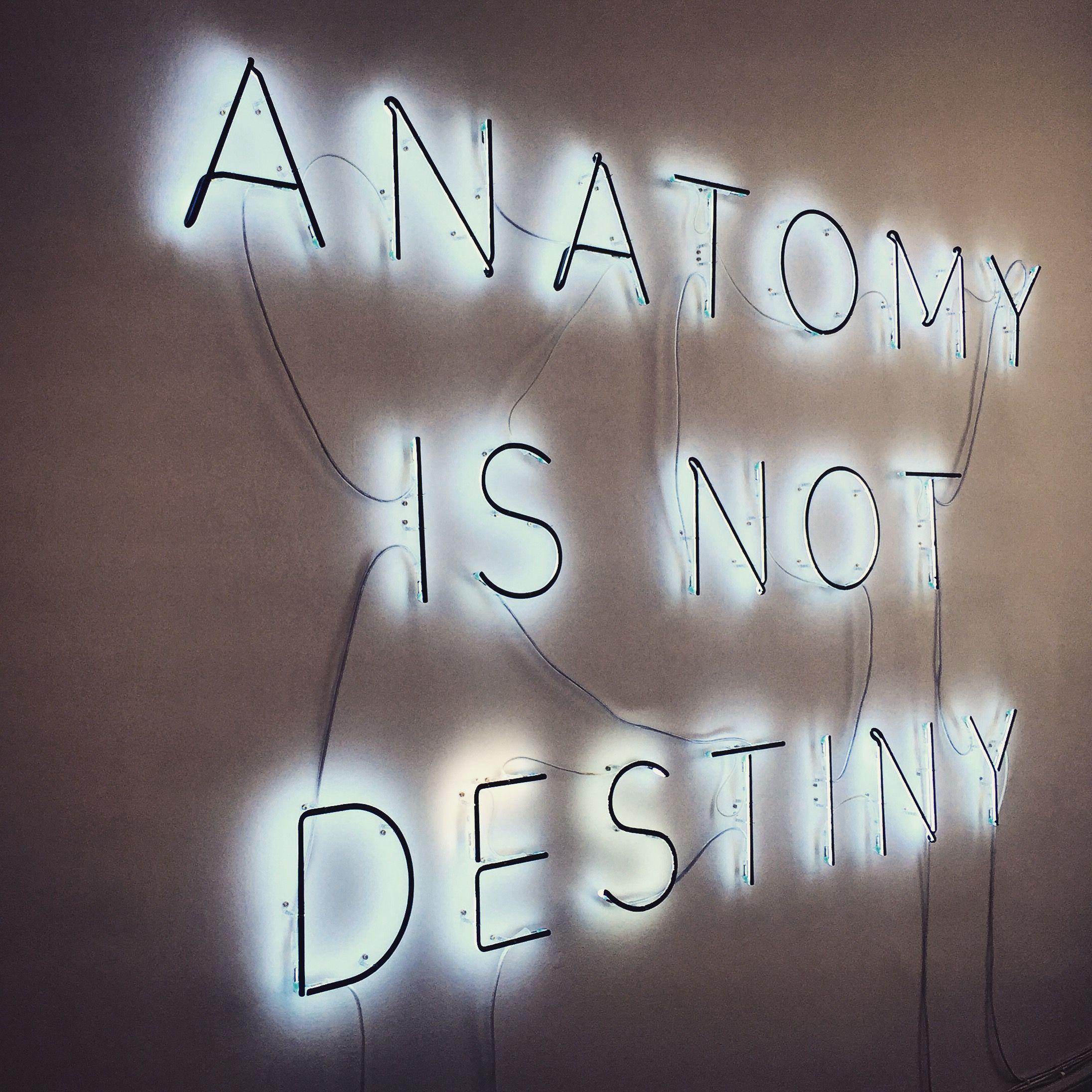 Anatomy is not Destiny\' | EVE ESTUARY
