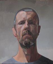 Gavan McCullough (b.1972) This, 2014 Oil on canvas |70 x 60cm