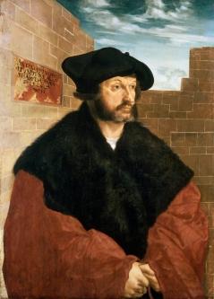 Wolfgang Huber - 'Portrait of Anthony Hundertpfundt'