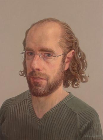 Comhghall Casey (b.1976) Self-portrait, 2013 Oil on canvas | 40 x 30cm