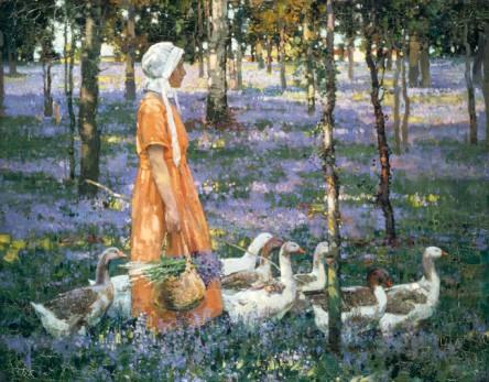 Stanley Royle - 'The Goose Girl'