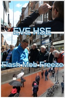 EVE HSE Flash Mob Freeze