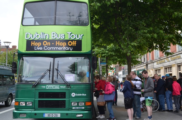 ... Hop Off At Any Of The Twenty Three Stops Along The Route. We Spotted  The National Gallery, Leinster House, Trinity College, Dublin Castle, ...