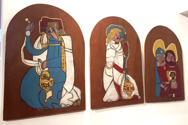 Angela Burchill - Holy Family Triptych