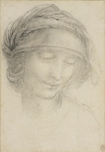 The head of St Anne